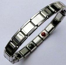 Buy ELECTRIFIED FEEL BETTER EJCN-006A Steel Bracelet 5 Infrared & 5 Germanium Stones