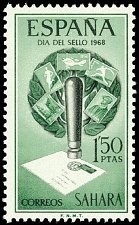 Buy SPAIN sahara 1968 1v Mint Stamp Stamp Day Mi300,