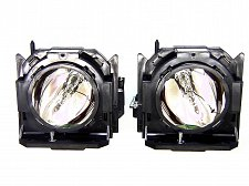 Buy PANASONIC ET-LAD60W ETLAD60W 2 FACTORY ORIGINAL BULBS IN HOUSINGS FOR PT-DZ6700U