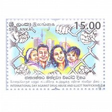 Buy Sri Lanka Post 2016 MNH Thematic –Drug Abuse and Illicit Trafficking -Intern