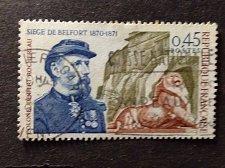 Buy France 1v used stamp Siege of Belfort 1870-1871 Colonel Denfert-Rochereau