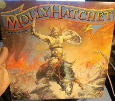 Buy Frank Frazetta Art on Molly Hatchet album cover