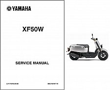 Buy 2007-2016 Yamaha XF50 ( C3 - Vox - Giggle ) Scooter Service Manual on a CD