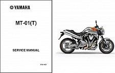 Buy 05-09 Yamaha MT-01 Service Repair Workshop & Owner's Manual CD --- MT01