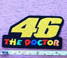 Buy New Valentino Rossi The Doctor Moto GP Racing embroidered iron on patch