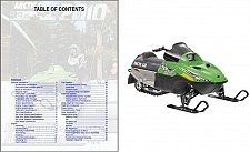 Buy 2010 2011 2013 Arctic Cat Sno Pro 120 Snowmobile Service Repair Manual CD