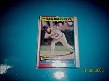 Buy 1987 Fleer Baseballs Best Sluggers Vs Pitchers TED HIGUERA #20