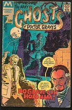 Buy The Many Ghosts of Doctor Graves #25 Modern (Charlton) 1978