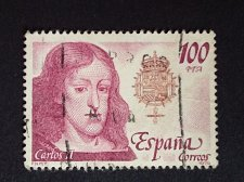 Buy SPAIN 1 Used Stamp Mi2448Royalty & Monarchies Thematic Louis I
