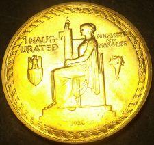 Buy Gem Unc Calvin Coolidge Presidential Bronze Inauguration Medallion~Free Shipping