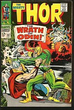 Buy THOR #147 1st print & series JACK KIRBY Marvel Comics 1967 Silver Age STAN LEE