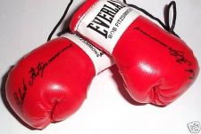 Buy Autographed Mini Boxing Gloves Bob Fitzsimmons