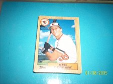 Buy 1987 Topps Traded Baseball ROOKIE KEN GERHART ORIOLES #38T FREE SHIPPING