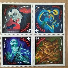 Buy Canada 1997 Se-tenant block of Stamp 1668a The Supernatural) 4 x 45¢ all diff