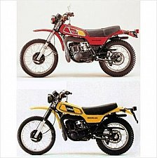 Buy 1977-1978 Yamaha DT250 / DT400 Enduro Service & Parts Manual on a CD