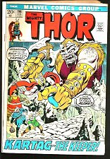 Buy THOR #196 Conway and Buscema Marvel Comics 1971 1st Print and Series