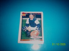 Buy 1991 Topps Traded card of mickey tettleton tigers #119T mint