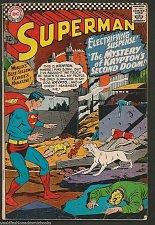 Buy SUPERMAN #189 Silver Age DC COMICS 1st print 1966 Mystery of Krypton's 2nd Doom
