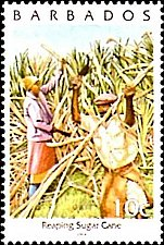 Buy Barbados 1v stamp mnh 2004 Mi:972II,Reaping sugar cane