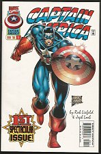 Buy Captain America #1 Liefeld & Loeb Marvel Comics 1996 SHIELD VF+/NM+range