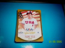 Buy FRANK VIOLA #7 2013 Panini USA Champions Gold Boarder Card FREE SHIP