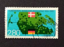Buy Germany 1 v used stamp 1985 Michel 1241 Bonn-Copenhagen Declarations