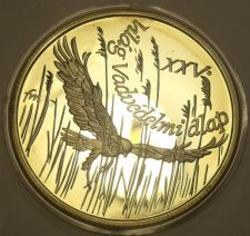 Buy Silver Proof Hungary 1988 500 Forint~Montagu's Harrier~25,000 Minted~Free Ship