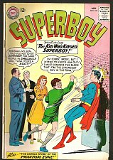 Buy Superboy #104 DC COMICS 1963 Silver Age