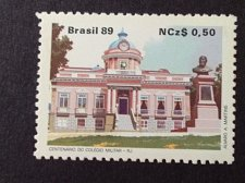 Buy Brazil 1989 1v mnh stamp mi 2298 Century Military School RJ
