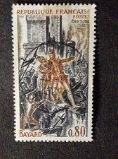 Buy France 1v used stamp 1969 Scott 1260 BAYARD-BRESCIA 1912 Siege of Brescia