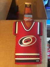 Buy (2) Carolina Hurricanes Bottle Jersey Koozies NEW (405)