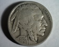 Buy 1918-S BUFFALO NICKEL FINE F NICE ORIGINAL COIN BOBS COINS FAST SHIPMENT