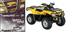 Buy 2006 Can-Am Outlander 400 800 MAX XT Service Manual on a CD