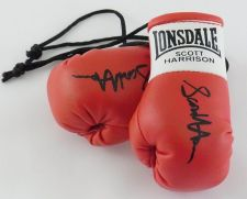 Buy Autographed Mini Boxing Gloves Scott Harrison