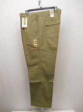 Buy Mens Big & Tall Comfort Cargo Pants DOCKERS Khaki Straight Legs Flat Front 46X30