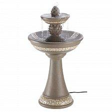 Buy 13807U - Mosaic Courtyard Pineapple Granite Look Water Fountain Yard Art
