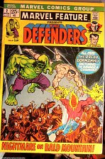 Buy MARVEL FEATURE #2 THE DEFENDERS 2nd one Fine- range 1st series 1972 1st print