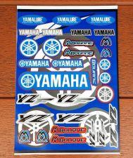 "Buy Racing Team Yamaha stickers sticker Vinyl sheet pack kit 9"" X 12"""