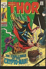Buy THOR #174 THOR SILVER AGE JACK KIRBY STAN LEE Marvel Comics 1970
