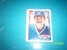 Buy 1991 Topps Traded jim essian cubs #36T mint free ship