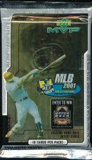Buy 3 new baseball PACKs - 2000 MVP Upper Deck HOBBY Alex RODRIGUEZ combo bat glove