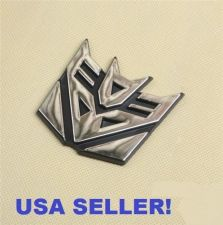 Buy Decepticon Transformers Emblem Badge Graphic Decal Car Sticker 3D Logo 1Pcs New