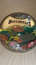 Buy Tampa Bay Buccaneers WATER GLOBE Paper Weight (405)