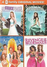 Buy 4movie DVD My Fake Fiance,Princess,Au Pair 3,Revenge Bridesmaids,Joey LAWRENCE
