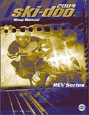 Buy 2004 Ski-Doo Rev ( GSX SDI MX Z Summit ) Snowmobiles Service Manual on a CD