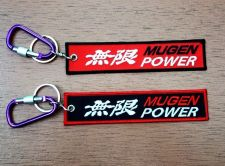 Buy Mugen Power Keychain Keyring Key Holder Embroidered Fabric Strap Tag Motorcycle