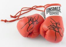 Buy Autographed Mini Boxing Gloves Bernard Hopkins
