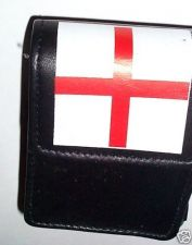 Buy Real Leather cigarette Pouch/Case England Flag