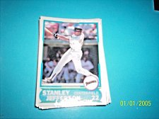 Buy 1988 Score Young Superstars series 1 baseball stanley jefferson #11 FREE SHIP