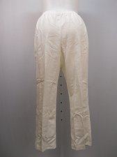 Buy PLUS SIZE 16W Womens Corduroy Pants ALFRED DUNNER Solid Ivory Proportioned Short
